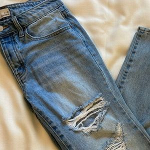 RSQ Soho Boyfriend Distressed Jeans size 26